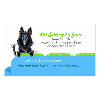 Happy Belgian SD Blue Couch Contact Card Business Cards