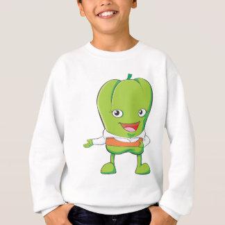 Happy Bell Pepper Customer Service Personnel Sweatshirt