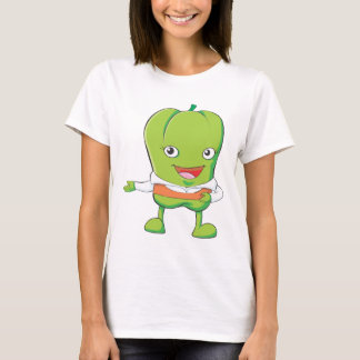 Happy Bell Pepper Customer Service Personnel T-Shirt