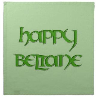 Happy Beltane Dinner Napkin (Cloth)