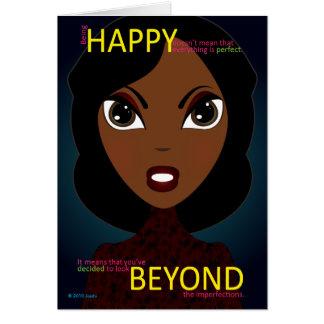Happy Beyond Greeting Card