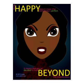 Happy Beyond Postcard