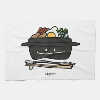 Happy Bibimbap Bowl Towel