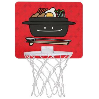 Happy Bibimbap Rice Bowl Mini Basketball Backboards