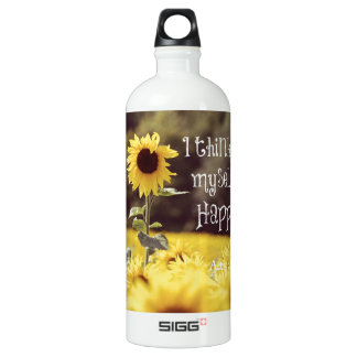 Happy Bible Verse with Sunflowers SIGG Traveler 1.0L Water Bottle