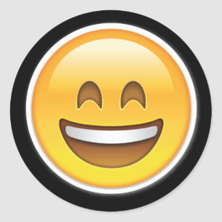 happy big smile emoji stickers