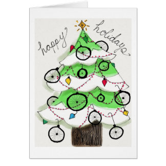 Happy Bike Holidays Greeting Cards