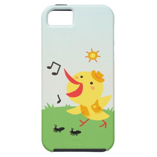 Happy Bird and Ants iPhone SE/5/5s Case