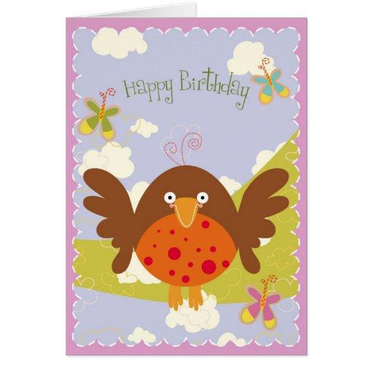 Happy Bird-day! Card