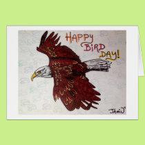 Happy Bird Day Card