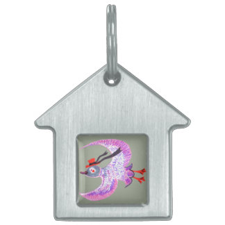 Happy Bird, Nice House Pet Tag