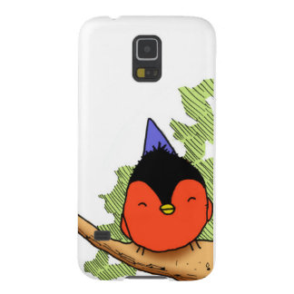 Happy Bird With party hatred Galaxy S5 Cases