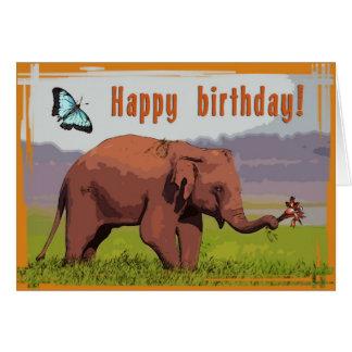 Happy birtday card