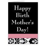 Happy Birth Mom's Day Stationery Note Card