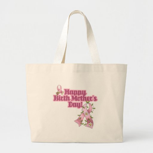 Happy Birth Mothers Day Canvas Bags