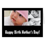 Happy Birth Mother's Day! Stationery Note Card