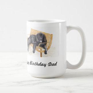 Happy Birthd Dad Newfoundland Dog Mug