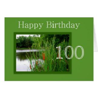 Happy Birthday 100th Card