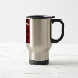 Happy Birthday 18 - red silk Coffee Mug