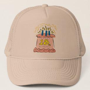 Happy Birthday 18th Gifts Trucker Hat