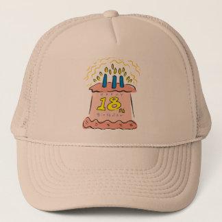 Happy Birthday 18th Birthday Gifts Trucker Hat
