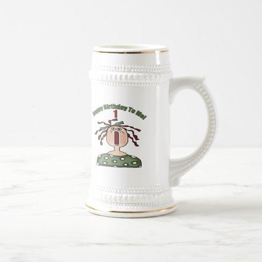 Happy Birthday 1st Birthday Mugs