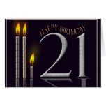 Happy Birthday 21! Cards