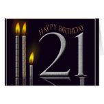 Happy Birthday 21! Greeting Card