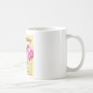 Happy birthday - 21st classic white coffee mug