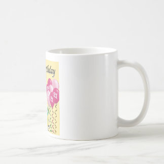 Happy birthday - 21st coffee mug