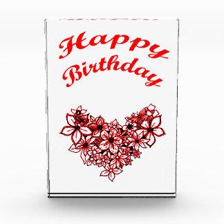Happy Birthday 2 Acrylic Award