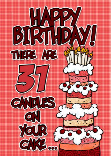 31 Year Old Birthday Cake Gifts On Zazzle