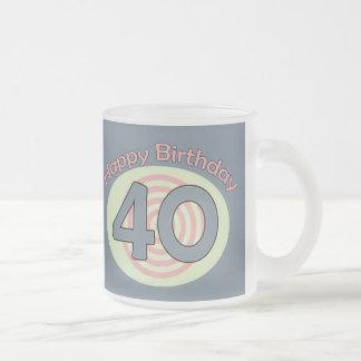 Happy Birthday 40 Mug