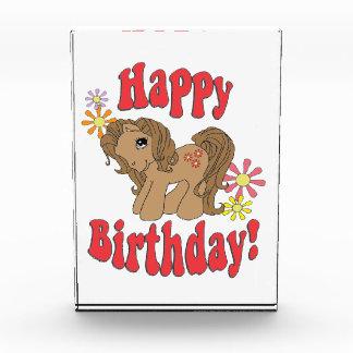 Happy Birthday 4 Acrylic Award
