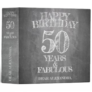 Happy Birthday - 50 Years & Fabulous