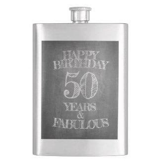 Happy Birthday - 50 Years & Fabulous Flask