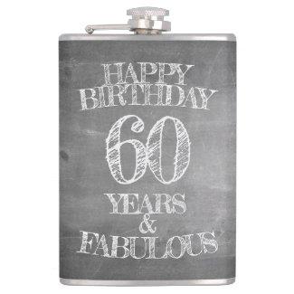 Happy Birthday - 60 Years & Fabulous Flask