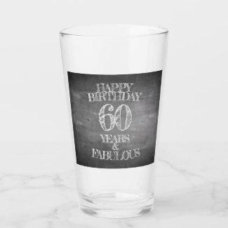 Happy Birthday - 60 Years & Fabulous Glass