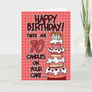 70 Year Old Birthday Cards
