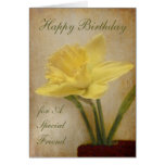 Happy Birthday, A Special Friend Greeting Card