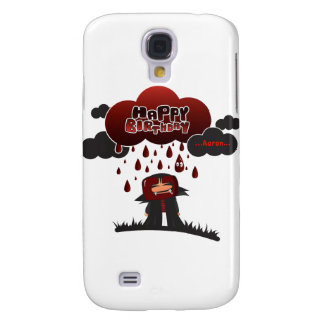 happy birthday Aaron Samsung Galaxy S4 Cases