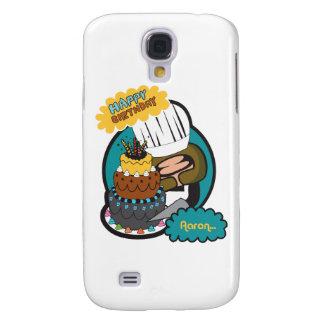 happy birthday Aaron Galaxy S4 Cover