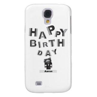 happy birthday Aaron Galaxy S4 Cases