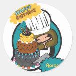 happy birthday Aaron Stickers