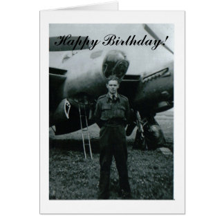 Happy Birthday airforce Card