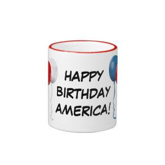 Happy Birthday America (Balloons) Mug
