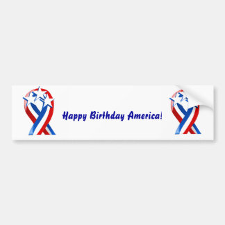 Happy Birthday America! Bumper Sticker