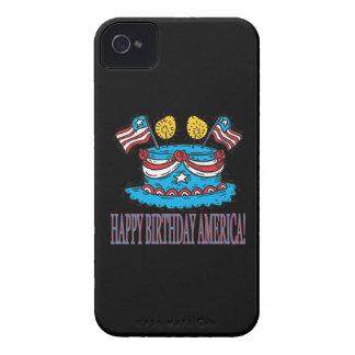 Happy Birthday America iPhone 4 Cases
