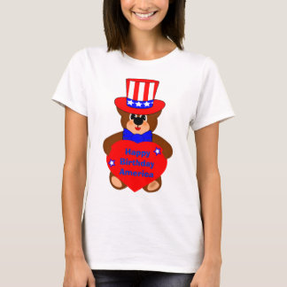 happy birthday america,edit text T-Shirt