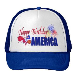 Happy Birthday America Hat
